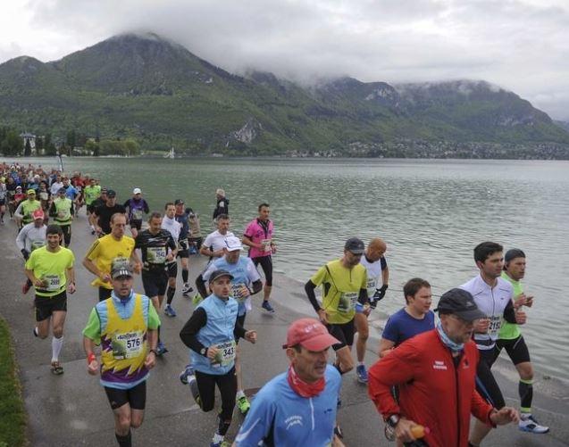 Marathon Lac d'Annecy